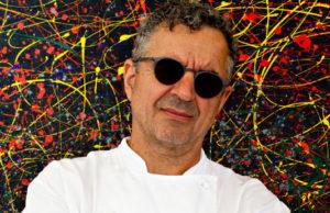 L'estrosità dello Chef Mauro Uliassi racchiusa in uno scatto