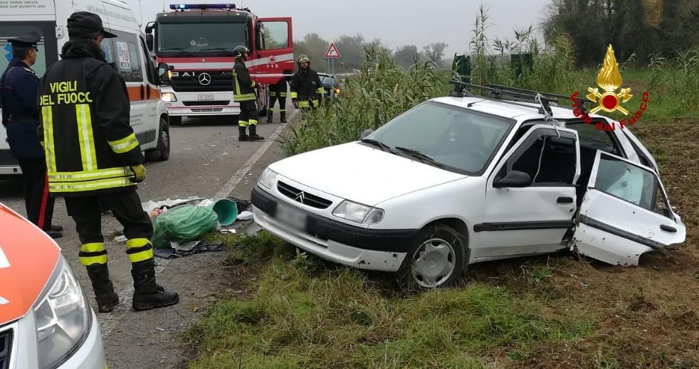 Monteroberto incidente