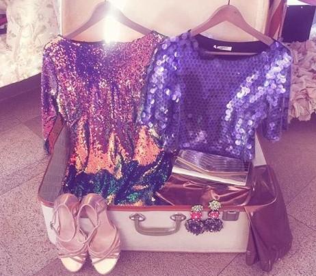 Raffaela Marinetti ci prepara la valigia perfetta per una vacanza scintillante