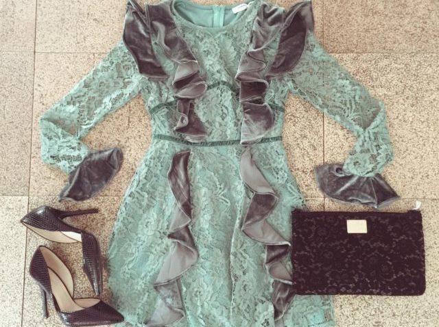 Un daily dress con rouches selezionato per noi da Raffaela Marinetti