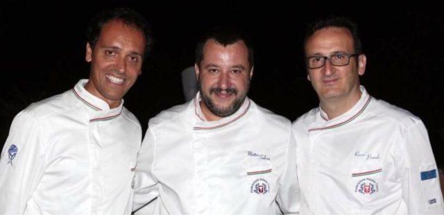 Una foto postata dal Ministro Salvini