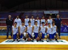 La formazione Under 16 Eccellenza Basket School Fabriano/Janus Fabriano