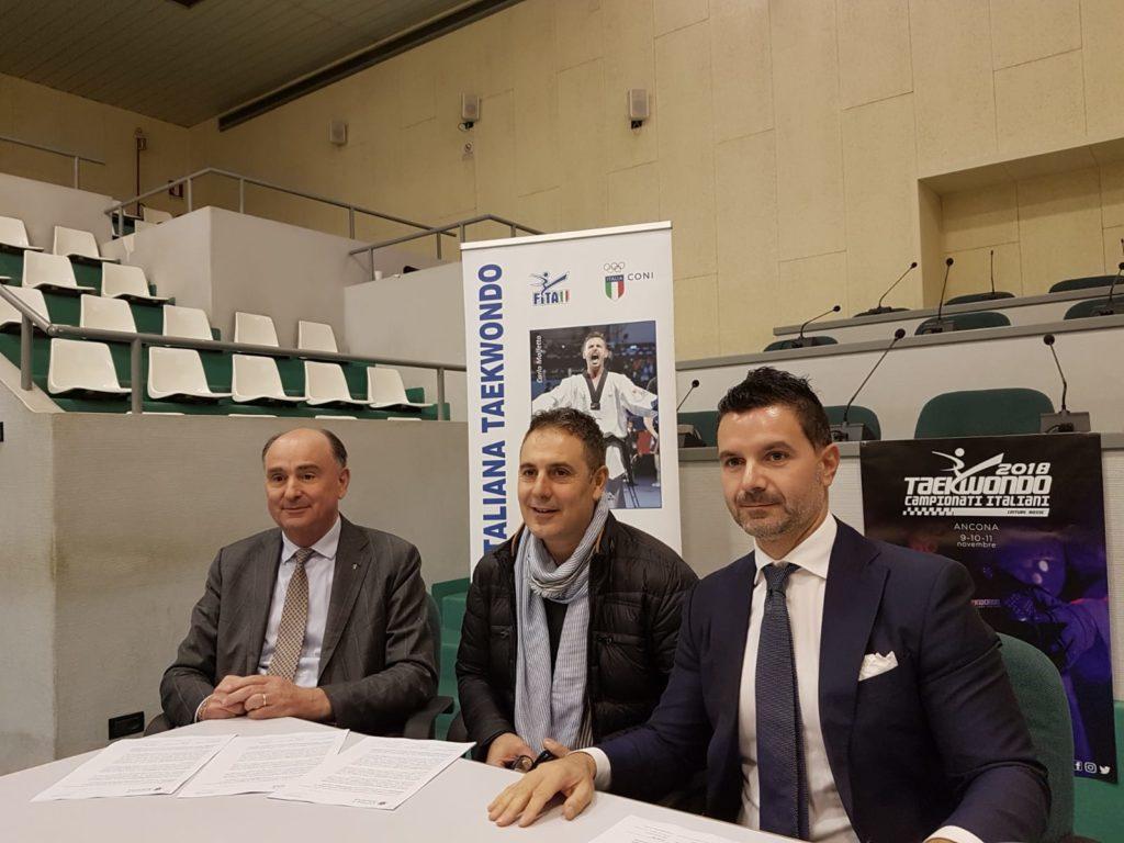 Da sinistra Fabio Luna, Andrea Guidotti e Marco Porcarelli