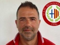L'allenatore del Monserra Matteo Moretti