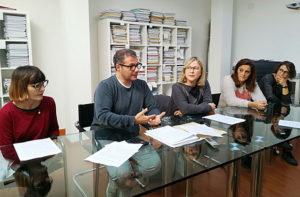 I referenti dell'associazione Amici Disabili e dell'Unione Nazionale Consumatori
