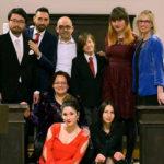 Alcuni cantanti dell'associazione lirica Pietro Mascagni di Ancona. Credits: Foto Mattielli