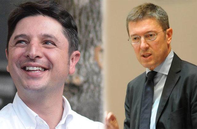 Giovanni Gostoli e Paolo Petrini, i due candidati alla segreteria regionale del Partito Democratico delle Marche