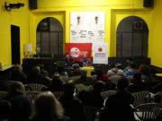 Il pubblico all'incontro sull'Unione Europea promosso da Eurostop Marche e dal Laboratorio sociale F.Benedetti Senigallia