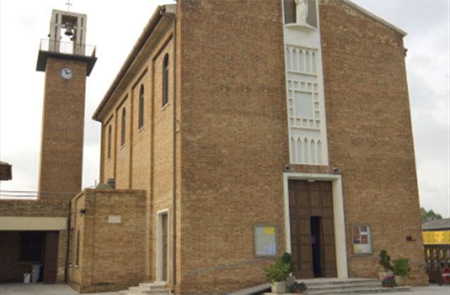 La chiesa della Madonna del Buon Consiglio al Cesano di Senigallia