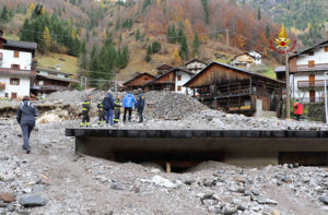 I danni provocati dal maltempo in Veneto