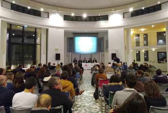 La presentazione a Senigallia della guida Slow Wine 2019, con i migliori vini d'Italia