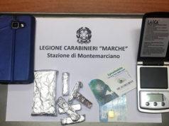 Il sequestro effettuato dai Carabinieri a Montemarciano