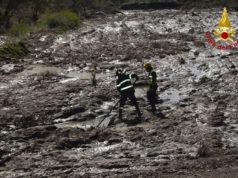 L'intervento dei vigili del fuoco per il maltempo in Veneto