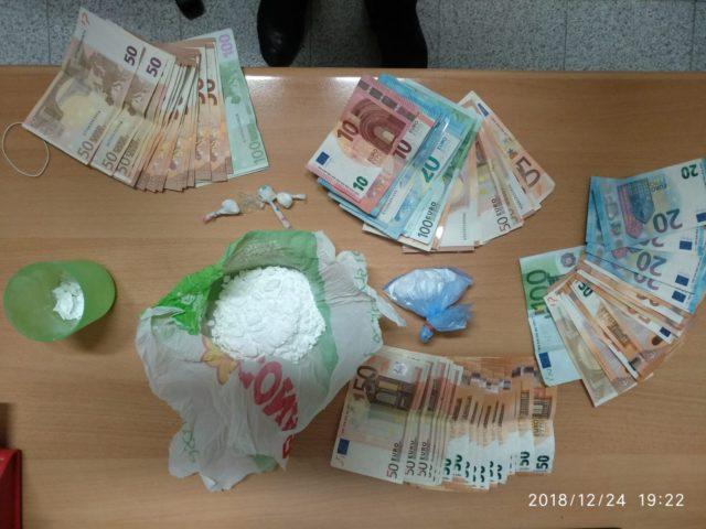 Droga e contanti sequestrati all'operaio di Fabriano