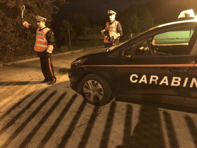 Carabinieri controllano il territorio