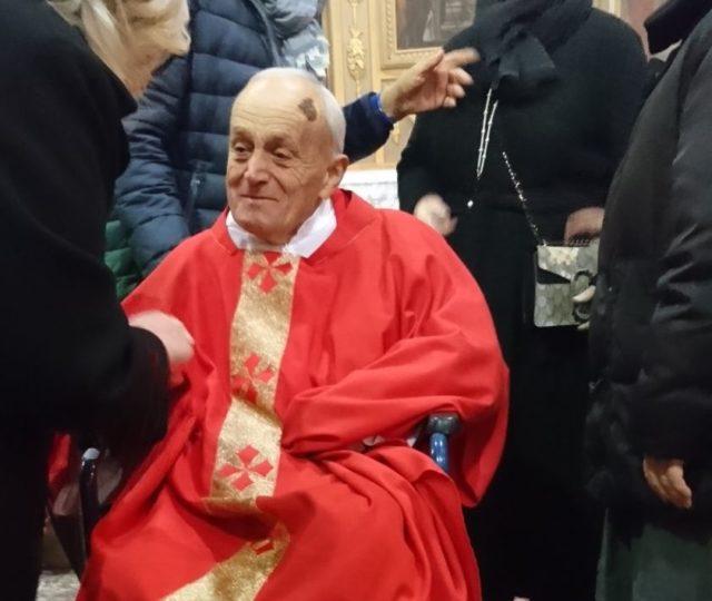Diocesi in lutto, si è spento Don Giuseppe Nicoli