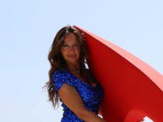 La 58enne marchigiana Liliana Maiani, Miss Eleganza