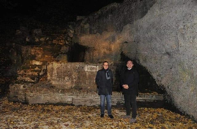 Osimo, Fontemagna oggi splende anche al buio