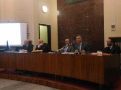 I relatori del primo convegno della Camera di Commercio delle Marche a Pesaro