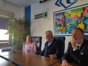 Da sinistra Rossana Berardi, Michele Caporossi e Carlo Mariotti