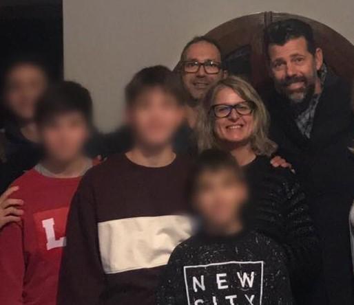 """""""I nostri figli"""", il sindaco a casa Calì per vedere il film"""