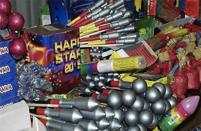 prodotti pirotecnici, fuochi d'artificio