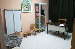 La sala della sede Andos di Senigallia per il consulto psicologico