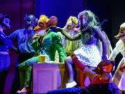 """Un momento dello spettacolo """"Geronimo Stilton nel Regno della Fantasia"""""""