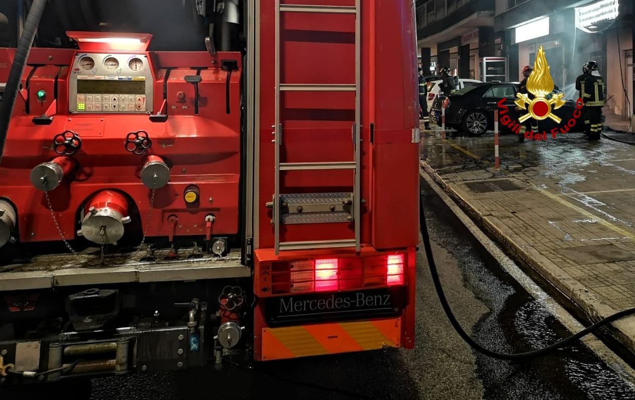 Senigallia, incendio sul 'PercorriMisa'