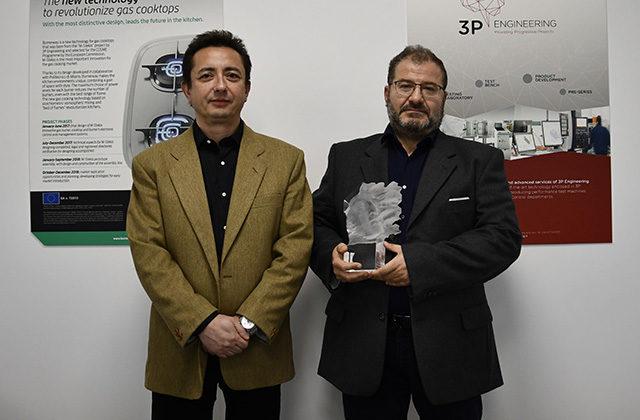 """Alla 3P Engineering il premio """"Tecnologia e Innovazione"""""""