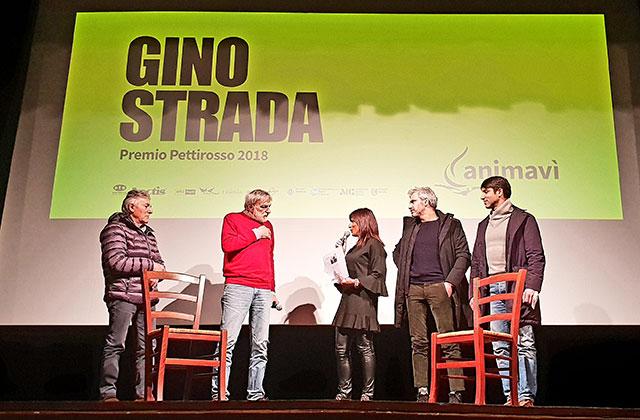 Arcevia, premio Pettirosso a Gino Strada