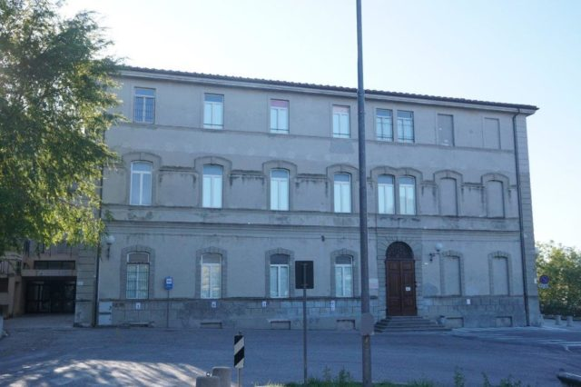 La scuola di Sassoferrato intitolata al Tenente Brillarelli