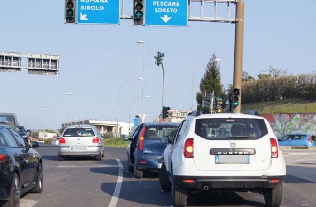 Il semaforo di Osimo Stazione