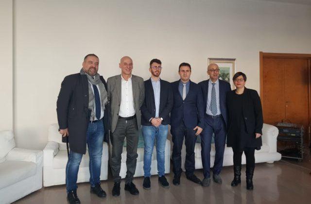 da sx: sergio Romagnoli (senatore), Giorgio Fede (senatore), Paolo Giuliodori (camera), Roberto Rossini (camera), Roberto Cataldi (camera), Patrizia Terzoni (camera)