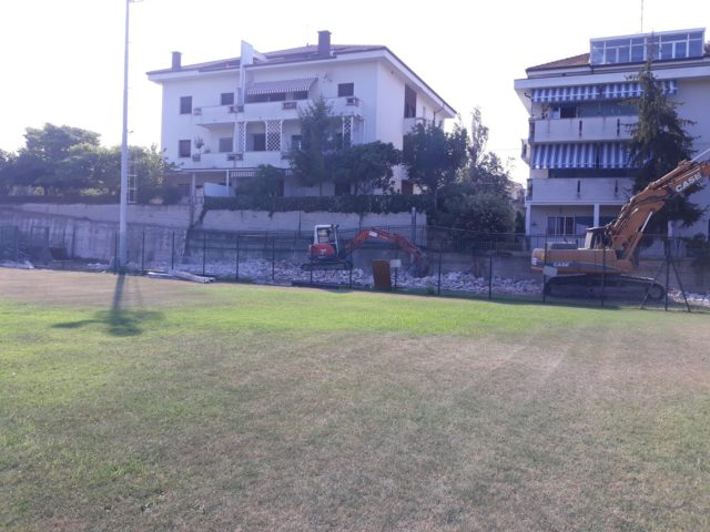 L'Olimpia Marzocca, il rinnovo del bando di gestione dello stadio