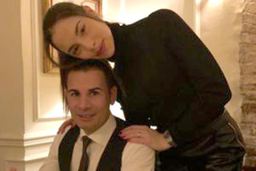 Miss Italia Carlotta Maggiorana e il marito Emiliano Pierantoni