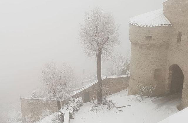Neve, fino a 40 centimetri verso Arcevia