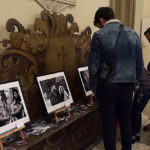 """Visitatori alla mostra a Ostra """"Sulle orme del poeta"""""""