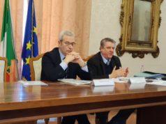 Il Prefetto Antonio D'Acunto e l'assessore alla Sicurezza Stefano Foresi