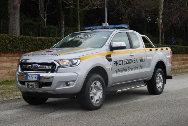 Maiolati, la Protezione civile ha un nuovo pick-up