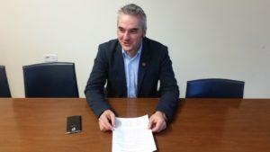 Il sindaco di Fabriano, Gabriele Santarelli