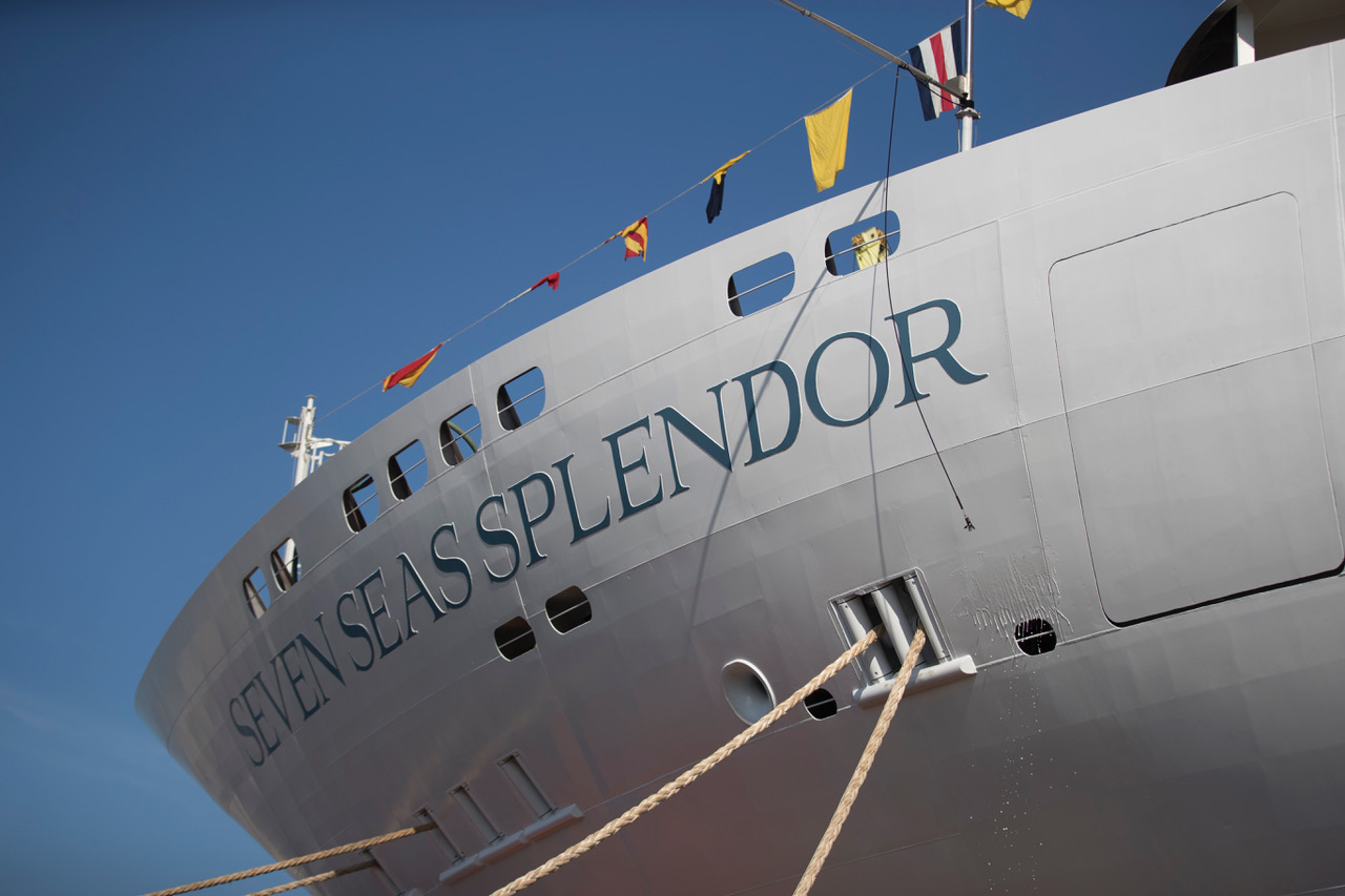 Ancona, varata la Seven Seas Splendor alla Fincantieri