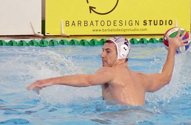 Vinko Lisika in azione per la Barbato