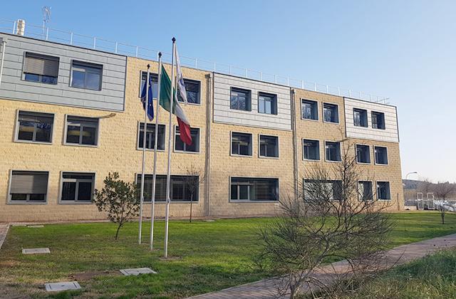 Il palazzo della Provincia di Ancona