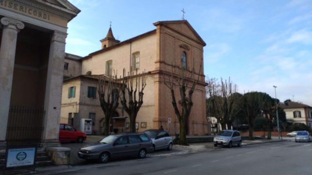 La chiesa di San Francesco d'Assisi dove si terrà il rito funebre