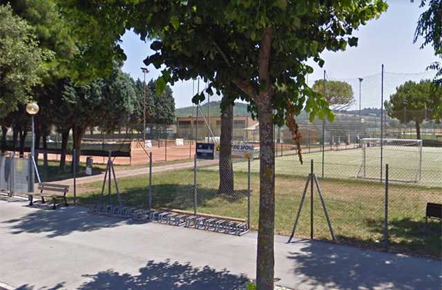 I campi e gli impianti sportivi a Ponte Rio di Trecastelli