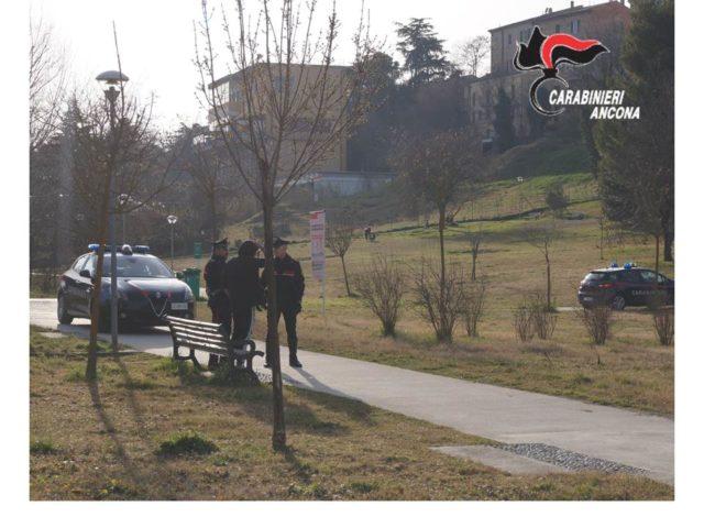 Parco del Vallato, segnalato un 20enne con hashish