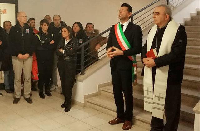 L'inaugurazione della nuova sede del Centro Operativo Comunale di Senigallia