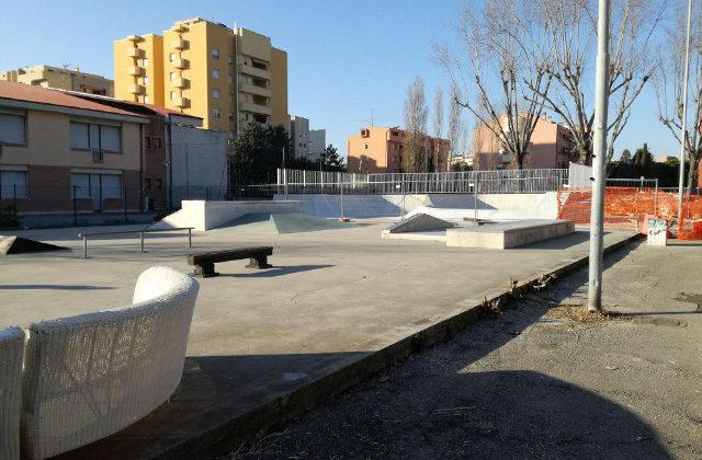 Lo skate park a Senigallia