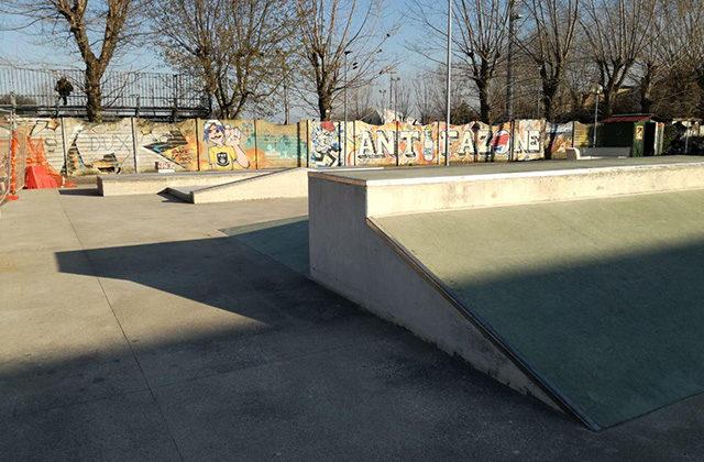 Lo skate park alle Saline di Senigallia